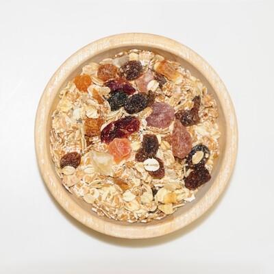 Muesli cranberry en fruit