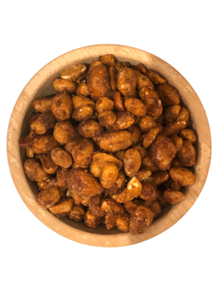 Cashew pinda honing en zeezout