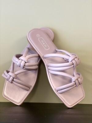 Sandaal knoop lilla