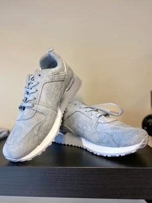 Sneakers blauw suede