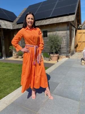 Kleed oranje Mondieux Madam