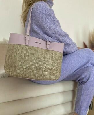 David Jones - Shopping Bag - Pale Purple