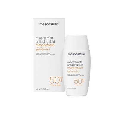 Mesoprotech mineral matt antiaging fluid 50+SPF  50ml