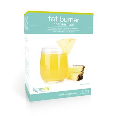 Fat Burner ananassmaak (15 stuks)