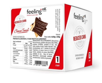 CHOCO TOAST (4X50G) - FEELING OK