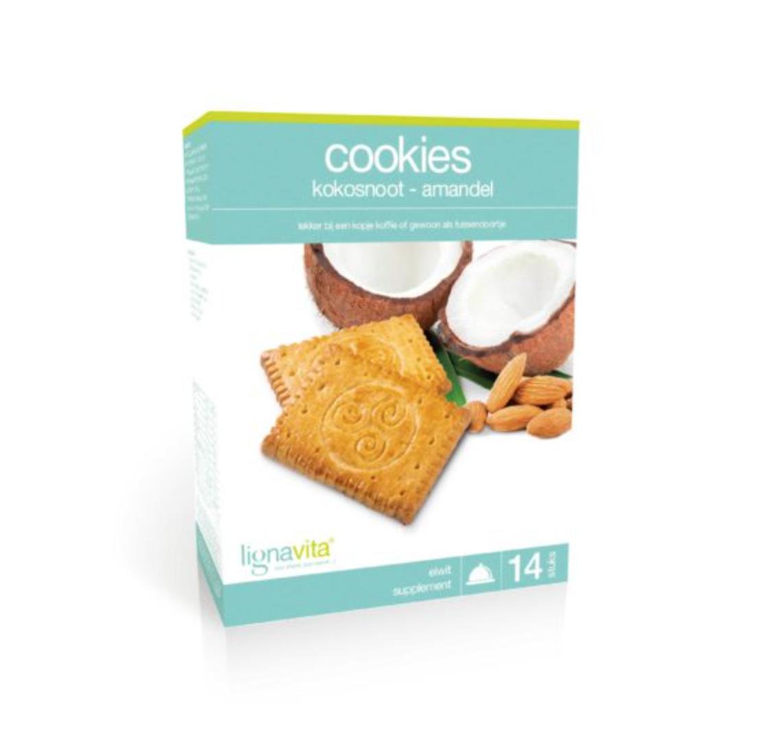 Cookies Kokosnoot/amandel (14x2 stuks)