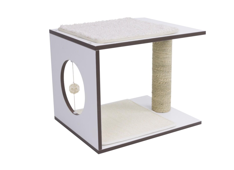 Vesper V-stool wit