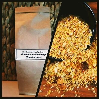 Homegrown's Homemade Rosemary Crumble