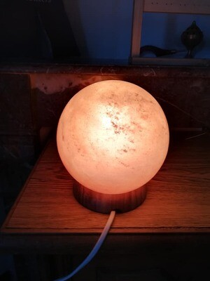 Lampe pierre de sel