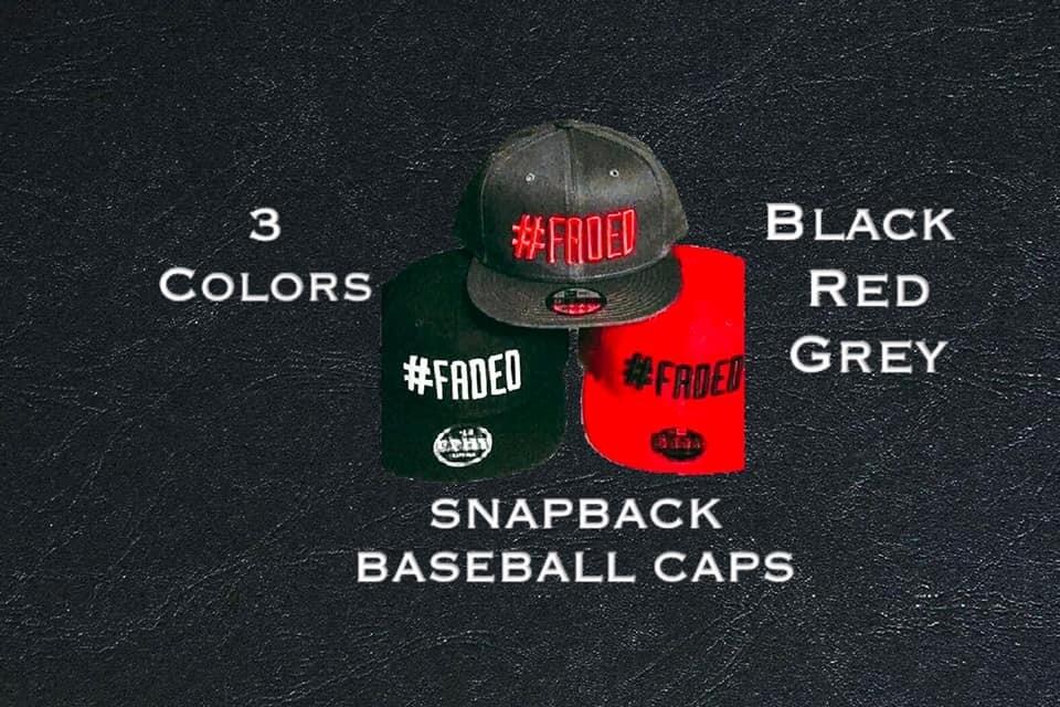 #Faded Snapback Baseball Caps