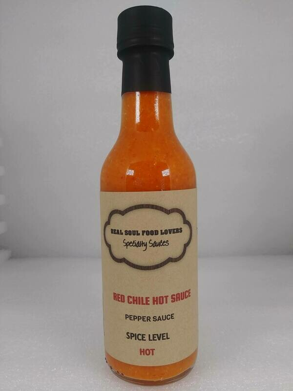 Red Chile Hot Sauce