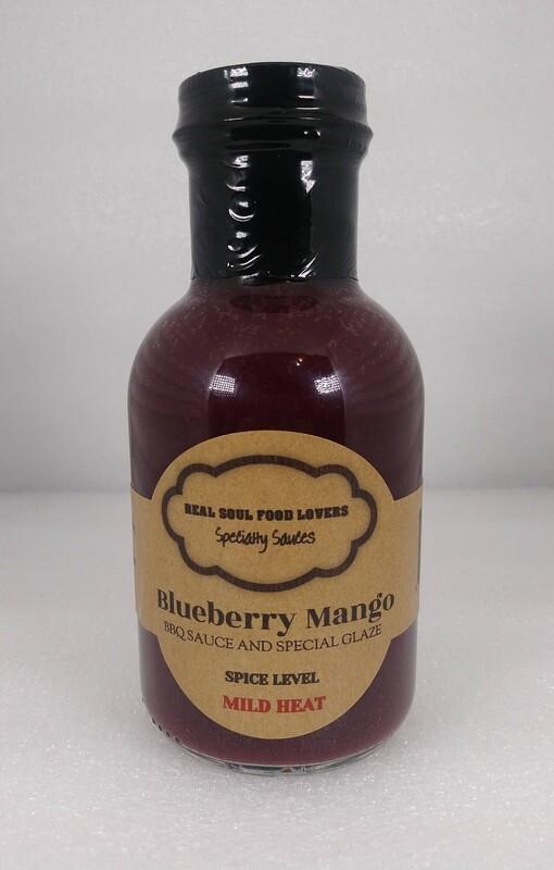 Blueberry Mango BBQ Sauce