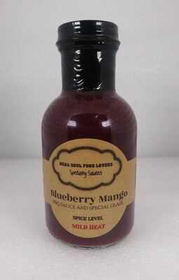 Blueberry Mango BBQ Sauce