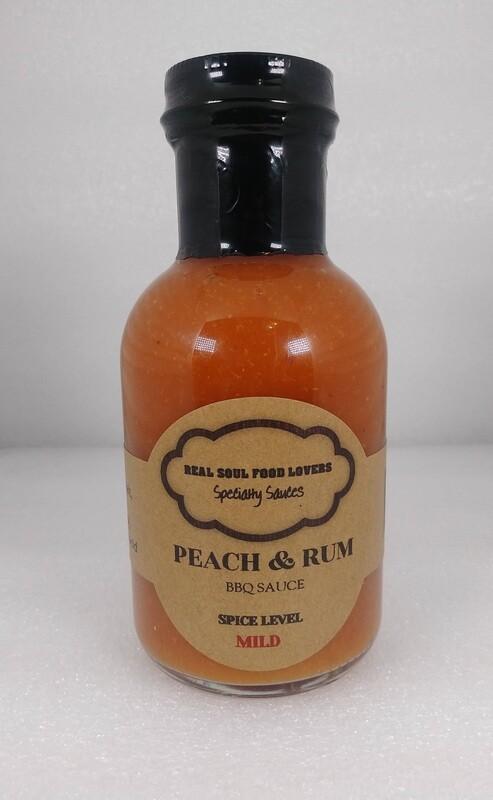 Peach & Rum BBQ Sauce