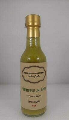 Pineapple Jalapeno Hot Sauce
