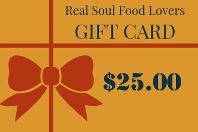 Real Soul Food Lovers Gift card