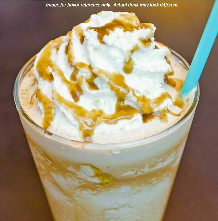 Deluxe Caramel Frappe
