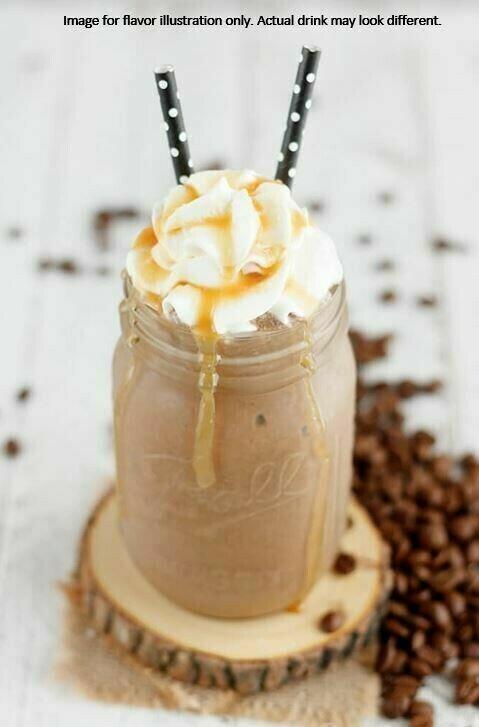 Chocolate Caramel Cafe Latte