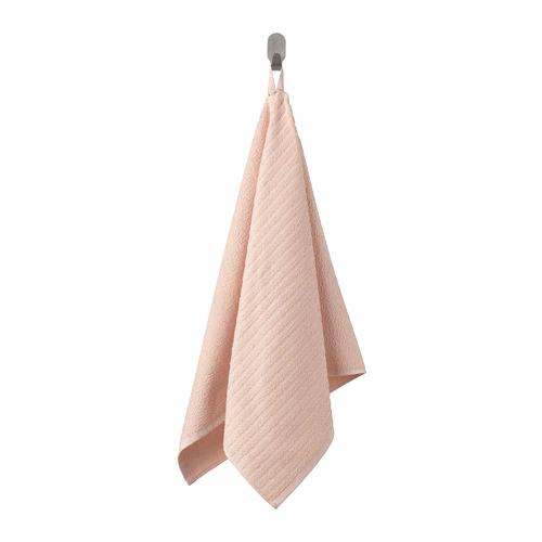 ВОГШЁН Полотенце банное, бледно-розовый 50*100 см