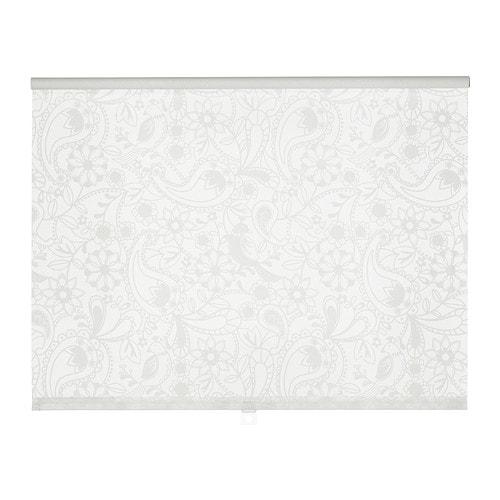 ЛИСЕЛОТТ Рулонная штора 195 см x 80 см белый