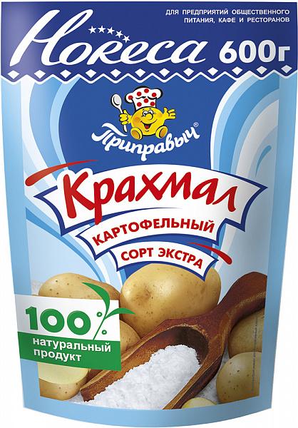 Крахмал картофельный сорт экстра 600г, Приправыч