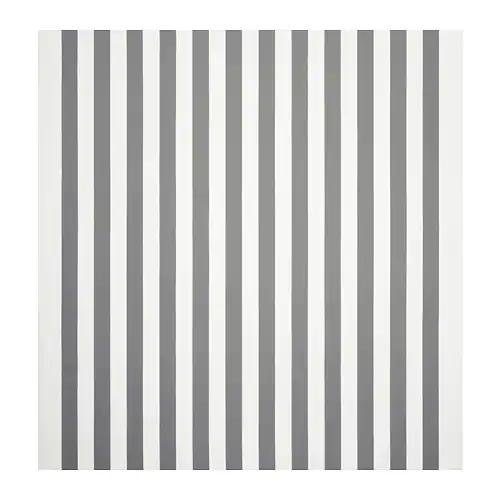 СОФИА Ткань, в широкую полоску, белый/серый/150см/ 3мх460