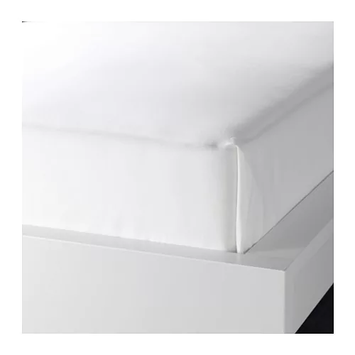 ФЭРГМОРА Простыня, белый, 220*240см, 100% хлопок.
