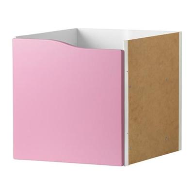 КАЛЛАКС Вставка с дверцей - розовый