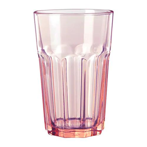 Стакан ПОКАЛ, розовый, 350 мл