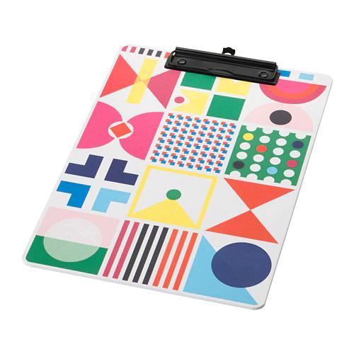 КНАЛЛЬГУЛЬ Папка с зажимом, разноцветный