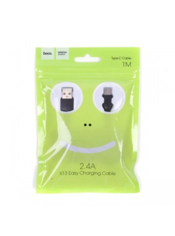 HOCO X13 EASY CHARGING CABLE MICRO 1M 2.4A