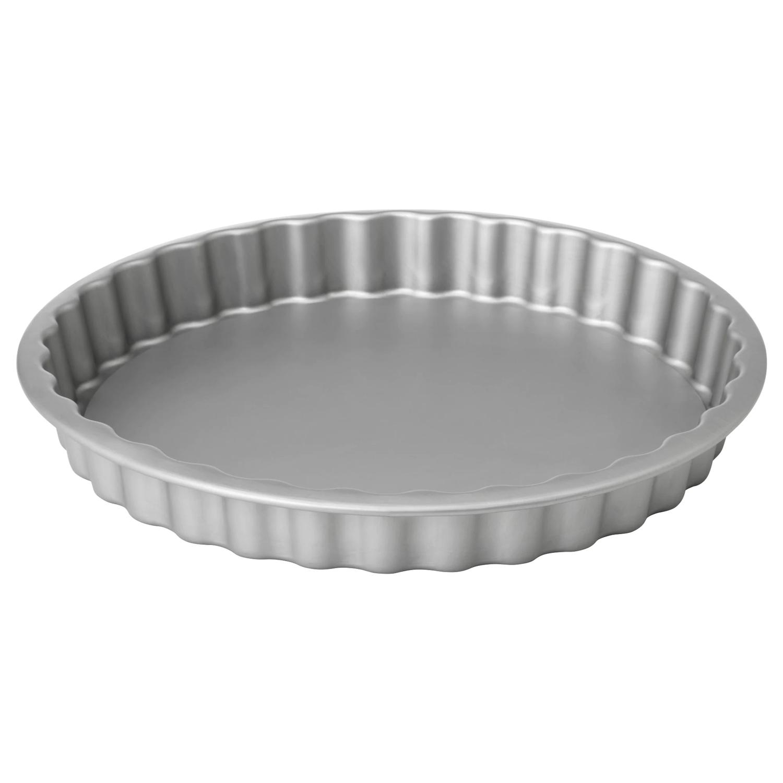 ВАРДАГЕН Форма для пирога, серебристый, 31 см/1.8 л