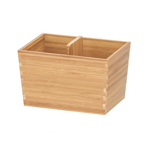 ВАРЬЕРА ящик с ручкой, бамбук   24x17