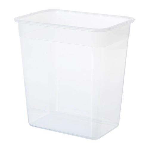 Контейнер для продуктов, прямоугольной формы, пластик  4.2 л