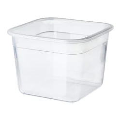 Контейнер для продуктов, четырехугольной формы, пластик