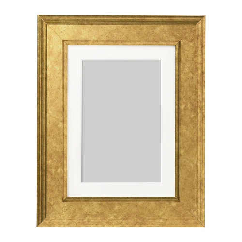 ВИРСЕРУМ Рама -  золотой       13x18