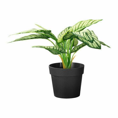 ФЕЙКА Искусственное растение в горшке, Диффенбахия