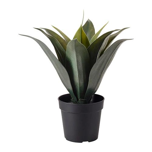 ФЕЙКА Искусственное растение в горшке, Агава