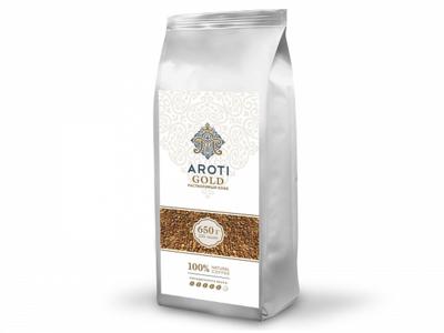Кофе Aroti Gold cублимированный натуральный растворимый 650г