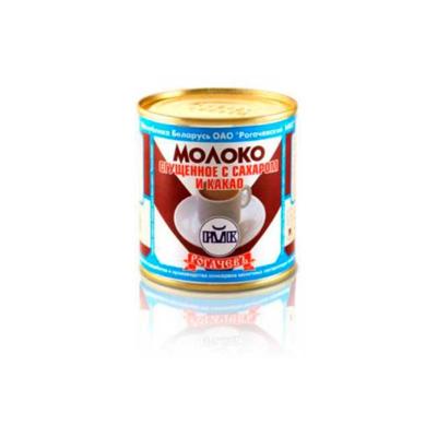 Молоко частично обезжиренное, сгущенное с сахаром и какао, Рогачев, Беларусь