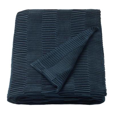 ВЭГМОЛЛА Плед, синий 120x160 см