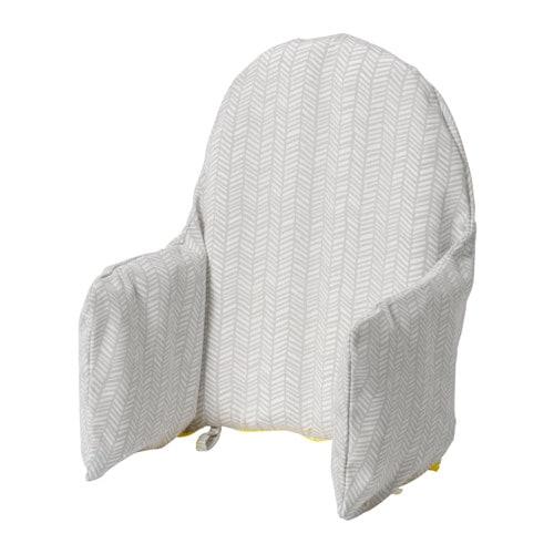 КЛЭММИГ Поддерживающая подушка и чехол, серый, желтый