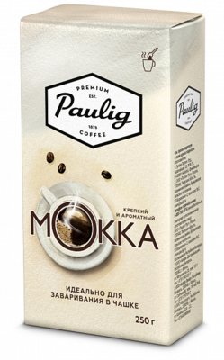 Кофе Paulig Mokka молотый для чашки 250г