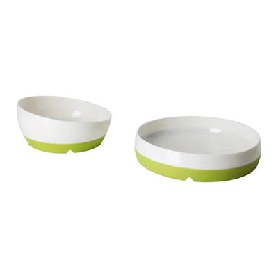 СМЭГЛИ Тарелка/миска (1 миска диам. 13 см и 1 тарелка диам.16 см).
