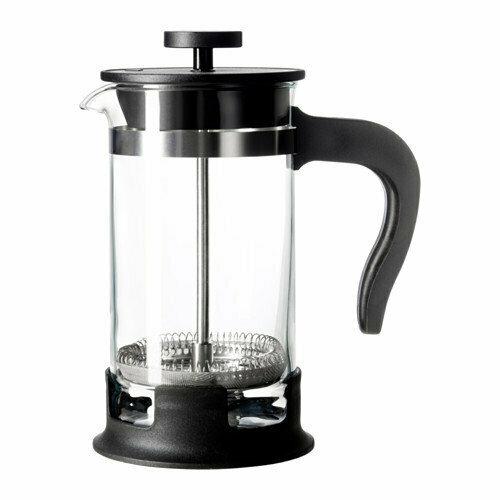 Кофе-пресс/заварочный чайник, УПХЕТТА, стекло, нержавеющая сталь, 0.4 л