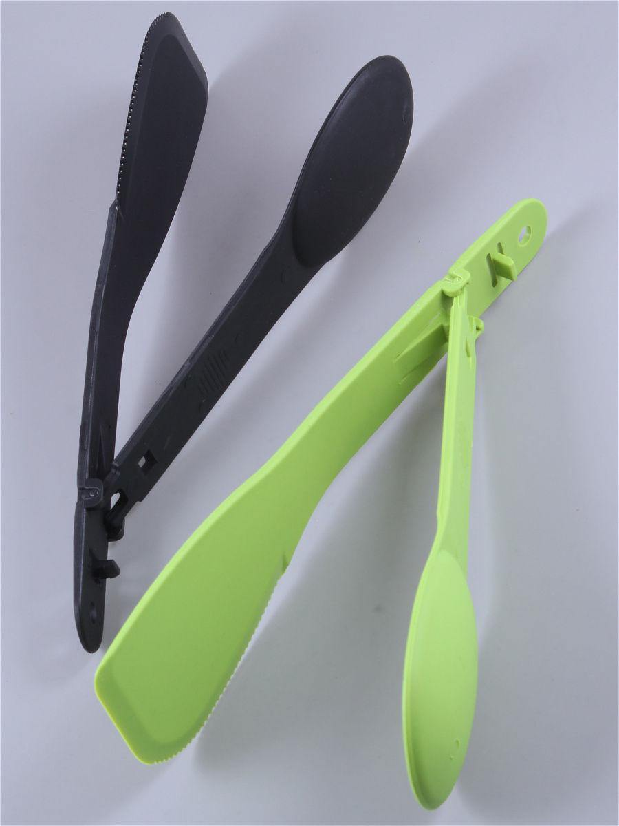 Лопатка - Щипцы двухсторонние/черный, зеленый