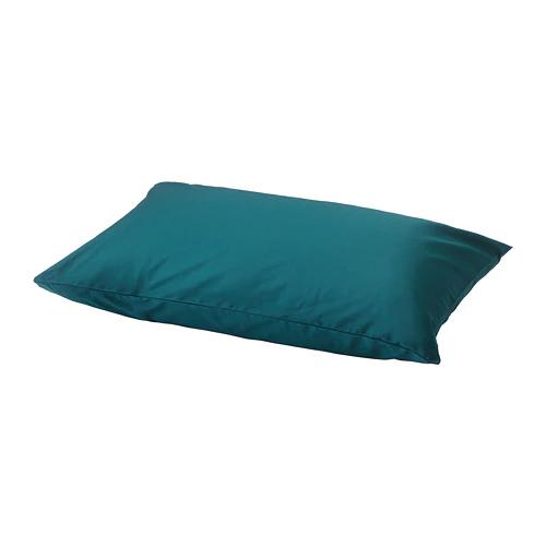 НАТТЭСМИН Наволочка, темно-зеленый, 50x70 см