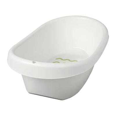 ЛЭТСАМ Ванночка детская, белый, зеленый