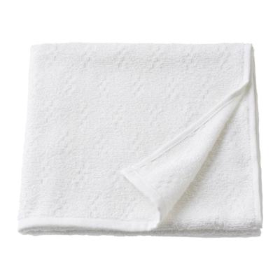 НЭРСЕН Банное полотенце, белый 55х120
