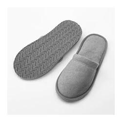 ТОШЁН Домашние тапочки, серый L/XL